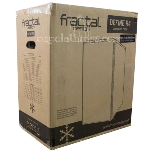 Fractal Design Define R4 Blackout Edition retail box