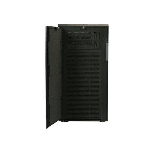 Fractal Design Define R4 Blackout Edition, front door open
