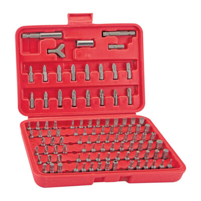 100-Piece Security Bit Set