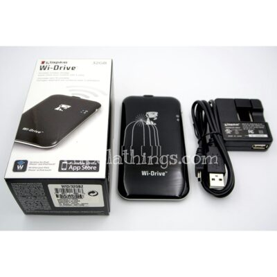 Kingston Wi-Drive Wireless Storage 32GB