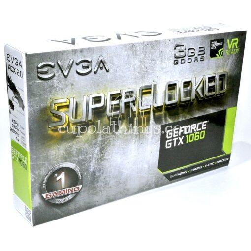 EVGA GeForce GTX 1060 SC Gaming - retail box