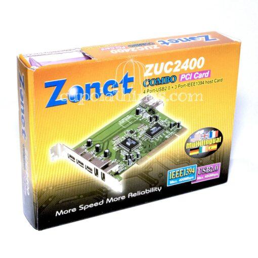 Zonet Combo USB Firewire PCI Card